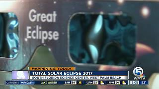 West Palm Beach eclipse: South Florida Science Center holding eclipse viewing party - Video