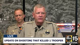 RAW: DPS officials give update on shooting that killed one trooper