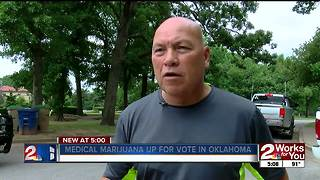 Medical marijuana up for vote in Oklahoma - Video