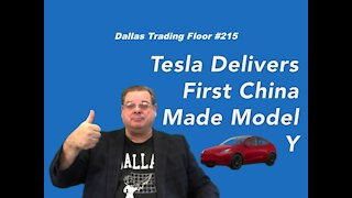 Tesla Delivers First China Made Model Y