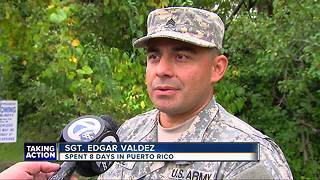 Army Reserve soldiers return home from Puerto Rico - Video