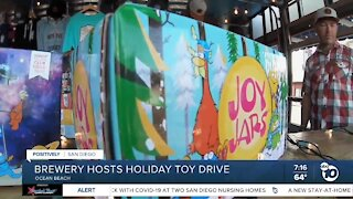 Brewery hosts holiday toy drive