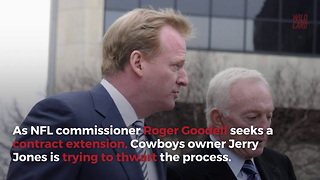Dallas Cowboys Owner Jerry Jones 'On A Mission' To Get Rid Of Roger Goodell - Video