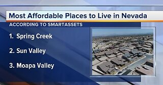 Most affordable cities in Nevada