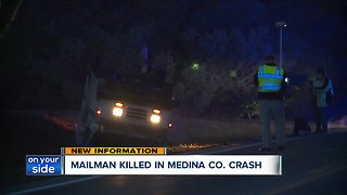 Mail carrier killed in Medina County crash