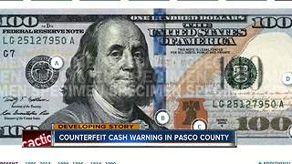 Counterfeit bills are on the rise in Pasco County