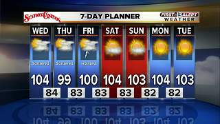 13 First Alert Weather for August 2 2017 - Video