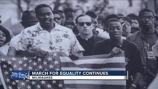 Milwaukee's fair housing marchers reflect 50 years later - Video