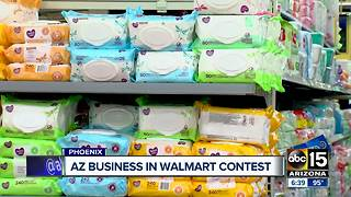 Arizona business in national Walmart contest to get a spot on their shelves