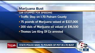 21-year-old arrested with over $300K in marijuana - Video