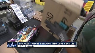 Thieves target USPS vehicles to steal packages