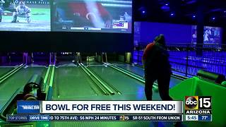 Celebrate National Bowling day with a free game! - Video