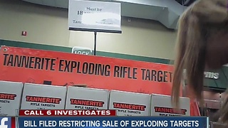 Restrictions proposed for sale of exploding targets - Video
