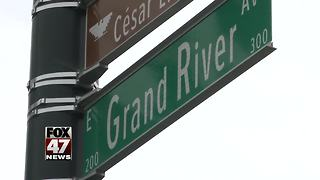 Signs unveiled for Cesar E. Chavez Avenue - Video