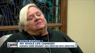 Nursing home resident infected with Hepatitis C - Video