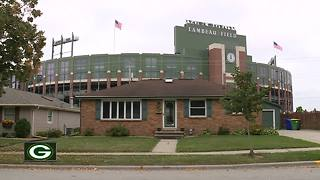 House near Lambeau Field on sale for nearly $1 million - Video