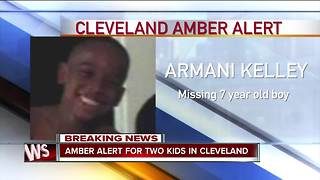 AMBER Alert issued two children out of Cleveland