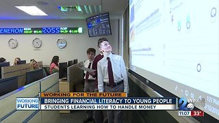 Bringing financial literacy to young people
