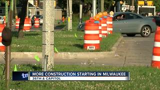 New construction project hits West Capitol Drive - Video