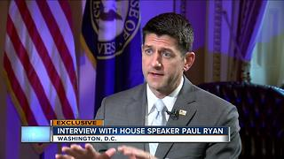 TODAY'S TMJ4 Charles Benson takes viewers questions to House Speaker Paul Ryan - Video