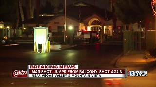 Man killed during Vegas Valley and Mountain Vista - Video