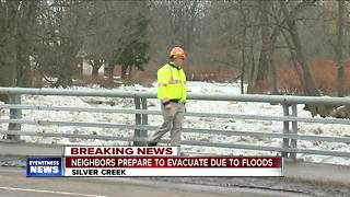 Neighbors of Silver Creek prepare for potential flooding evacuations - Video