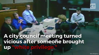 "Liberal Mayor Freaks on ""White Privilege"" - Video"