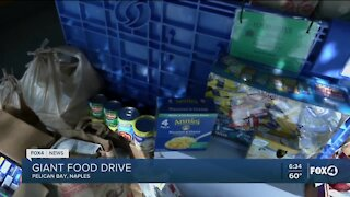 Local assistance, food drives, job openings, and other local resources