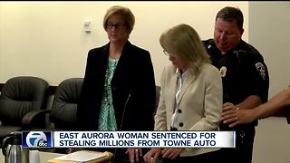 Former employee sentenced for stealing millions from Towne Auto - Video