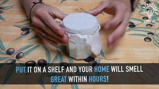 DIY natural homemade air freshener - Video