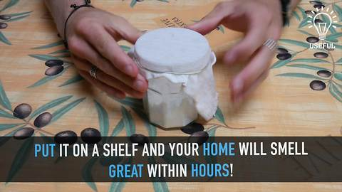 DIY natural homemade air freshener
