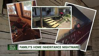Inherited home comes with surprise mortgage - Video