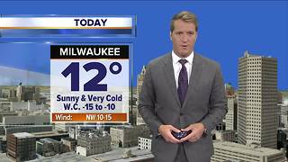 Cold continues in Southeast Wisconsin - Video