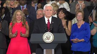 VP Pence talks need for tax reform, health care during Indiana visit - Video