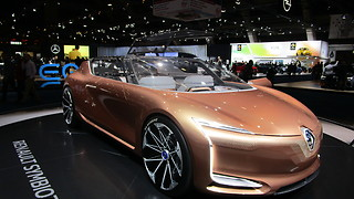 Conceptcar: Renault Symbioz at Autosalon Brussel 2018  - Video