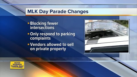 Changes to St. Pete MLK Day parade
