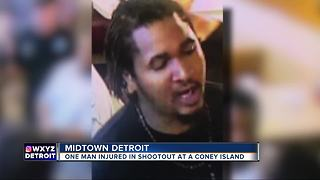 One hurt in shootout inside Coney Island in Detroit's Midtown