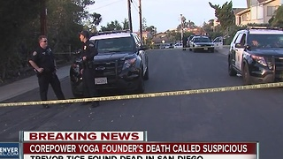 Founder of CorePower Yoga found dead in California home - Video