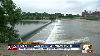 Man drowns in Great Miami River