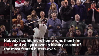 Barry Bonds To Have #25 Jersey Retired By Giants - Video