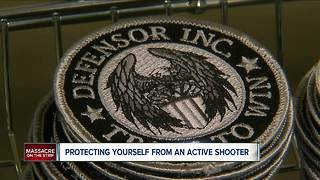 Local vet  to survive an active shooter - Video
