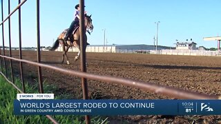 Cavalcade Rodeo continuing tradition during pandemic