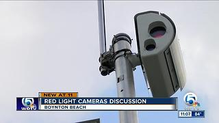 Will Boynton Beach reactivate red light cameras? - Video