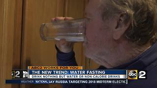 The New Trend: Water Fasting - Video
