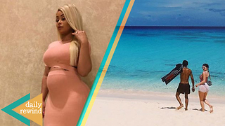 Kylie Jenner's 1st Family Vacation with Travis & Baby Stormi! Blac Chyna's Lies EXPOSED! | DR - Video