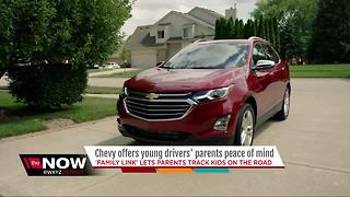 Chevy offers young drivers' parents peace of mind - Video