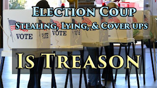 Our Republic Hinges on Overturning Election Coup, Ending Cyberwar & China Control w/ General Vallely