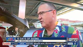 Toys arrive at the Las Vegas Rescue Mission | 13 Days of Giving - Video