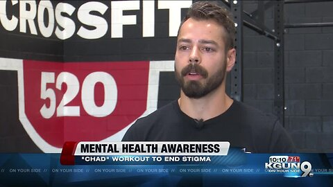 Tucson cross fit gym promotes workout to help raise awareness for mental illnesses
