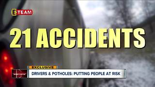 Drivers and potholes: putting people at risk - Video
